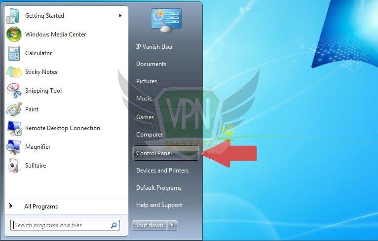 Windows 7 Setup step1