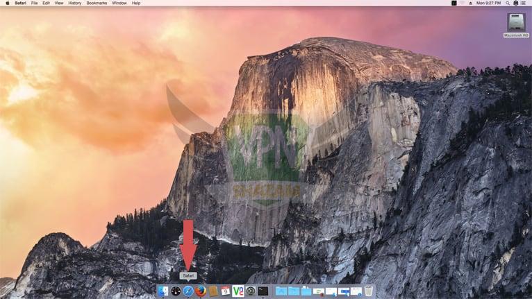 Mac OpenVPN Setup step1