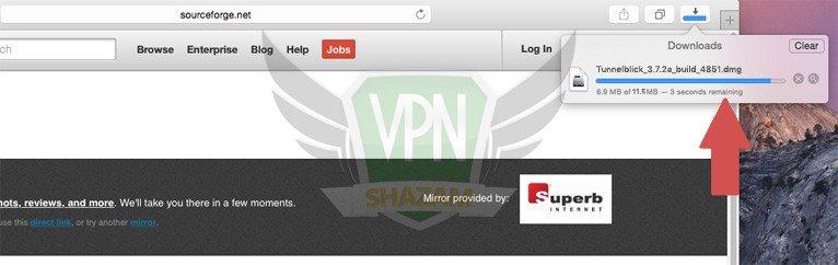 Mac OpenVPN Setup step3