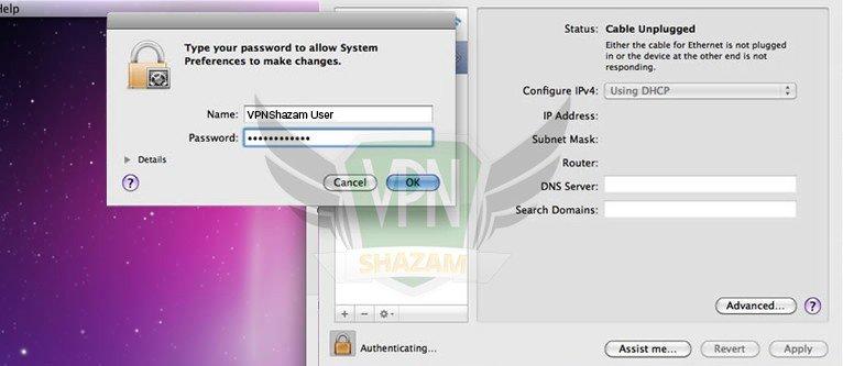 MAC OS Setup step4