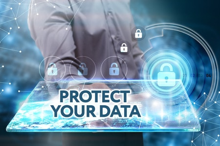 protect your data through VPN